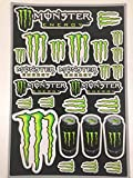 Planche stickers Monster Energy - Déco Dirt Bike