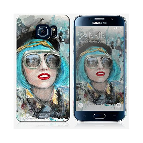 Coque iPhone 6 Plus et 6S Plus de chez Skinkin - Design original : Lady gaga glasses par Denise Esposito Coque Samsung Galaxy S6