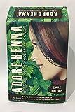 #8: Adore Henna Herbal Based Hair Color Powder, Dark Brown, 60g