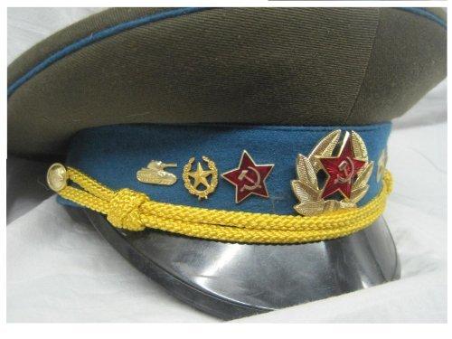 Luftwaffe Kostüm - Mütze, Schirmmütze, Russland , Luftwaffe, Offizier,