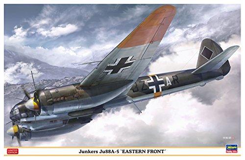 Hasegawa hjt074461: 48Escala Junkers ju88a-5Frente Oriental Modelo Kit