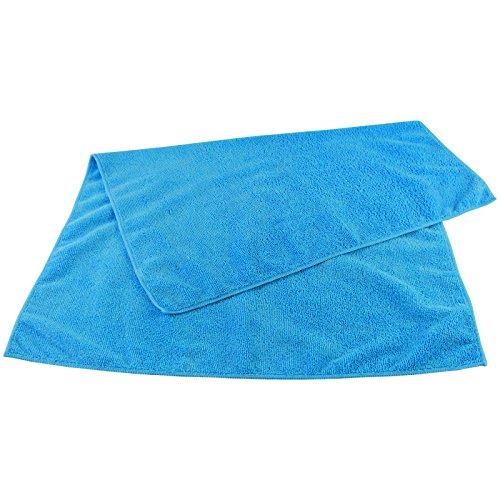 MFT HIGH PERFORMANCE XL blau (6230) - Mikrofaser Reinigungstuch 50 x 70 cm Microfaser Tuch Universaltuch fusselfrei Tuch Staubtuch 300 g/m² - ABACUS