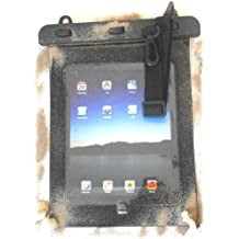 """PRESKIN - Wasserfeste Tasche bis 10.1 Zoll Display, Wasserdichte Tablet Schutzhülle (Beachbag10.1""""Black) / PC Hülle mit Touchscreen Funktion wie Schutzfolie / Displayfolie, Waterproof / water resistant tablet bag / pouch / case für viele Geräte (Beachbag10.1""""Black)"""