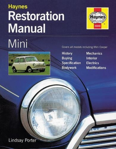 Mini Restoration Manual (Haynes resto series) por Lindsay Porter