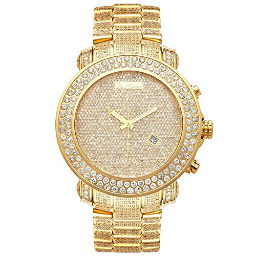 Joe Rodeo Diamond orologio da uomo - Junior Gold 23.9 Ctw