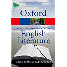 The Concise Oxford Companion to English Literature (Oxford Quick Reference) (English Edition)