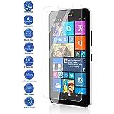 Todotumovil - Protector de Pantalla Cristal Templado Vidrio 9H para Nokia Lumia 640 XL LTE