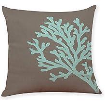NPRADLA Fundas de Cojines de The Home Underwater World Throw Pillowcase Cushion Cover