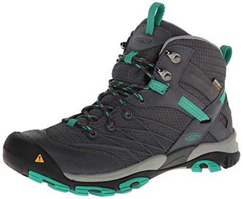 Keen Marshall Mid WP Synthétique Chaussure de Randonnée Magnet-Emerald