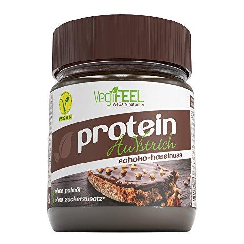 VegiFEEL Protein AuVstrich, Schoko-Haselnuss Creme, 1er Pack (1 x 250 g) -