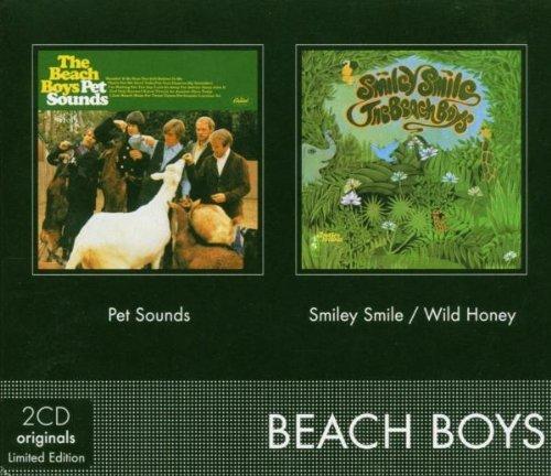Pet Sounds (Mono)/Smiley Smile/Wild Honey [Slipcase Version] By The Beach Boys (2004-09-13) (Beach Boys-pet Sounds Mono)
