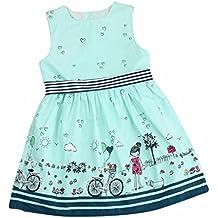 146e8dfcf8d10 Amlaiworld Falda niña Vestido de princesa de bebé Niñas Vestido de fiesta  sin mangas