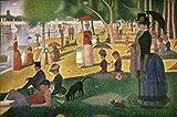 Kunstdruck/Poster: Georges Pierre Seurat Un dimanche aprèsmidi à l ILE de la Grande Jatte - hochwertiger Druck, Bild, Kunstposter, 75x50 cm