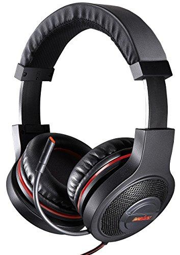 Perixx AX-3000, Gaming Headset - 7.1 Surround Sound - Faltbar - In-line Audio Control - Mit Treiber für mehr Einstellungen