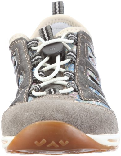 Rieker L6297-43 Damen Sneaker Grau (dust/dust/kornblume 43)