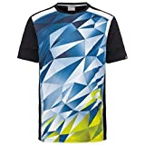 Head Medley Camiseta, Hombre, Sky Blue/Yellow, Large