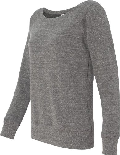 Bella Canvas - Sweat-shirt - Solid - Manches Longues - Opaque - Femme Gris