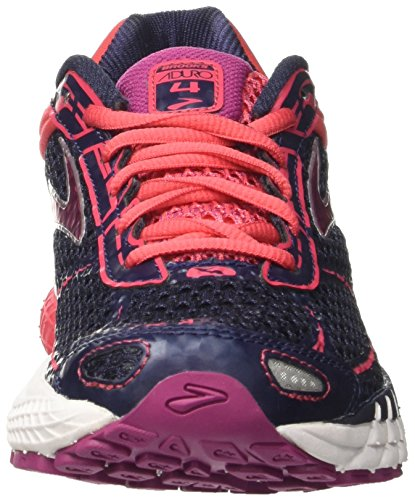 Brooks Damen Aduro 4 Laufschuhe Grau (Peacoat/teaberry/boysenberry)