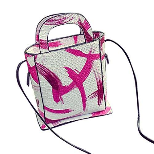Transer - Borsa a tracolla Ragazza donna Pink