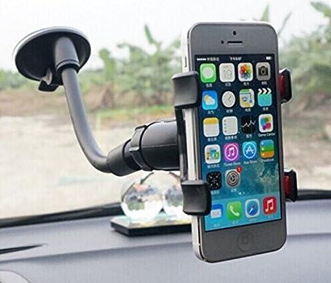 JVJ einfach zu verwenden, Universal-Autohalterung für Smartphones, GPS, Windschutzscheiben-Armaturenbrett Premium Auto Car Mount Halterung für Galaxie s3 s4 s5 s6 s2 Anmerkung 4 Anmerkung 3 Anmerkung 2, HTC eine max m8 m7, iphone 6 4,7, iphone 6 plus, iphone 5s 5g 4s 4g 3gs, sony Z3 Z2 Z1. LG g3 g2 G Pro2, G3, LG flex, Nokia 1520, Huawei mate2, Asus zenfone 5, 6 zenfone, GPS-Navigation und alle intelligenten Gadgets