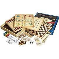Philos 9960 - Set di giochi da tavolo, 10 combinazioni di giochi [importato dalla Germania]