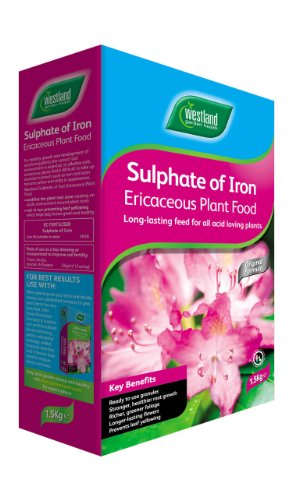 Westland Sulphate of Iron Plant Food Test