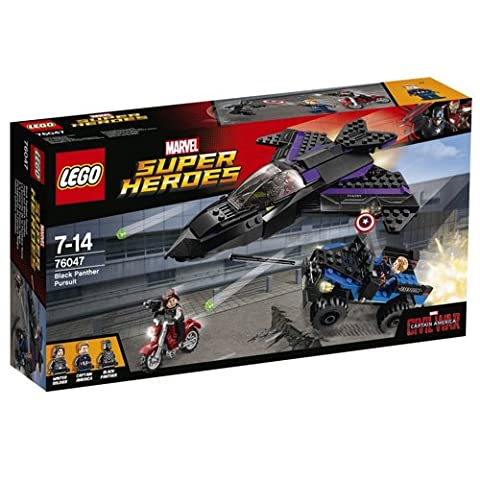 Lego Marvel Super Heroes - 76047 - Jeu De Construction - Black Panther Pursuit