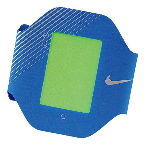 Nike Men`s Elite Bicep Band (für Apple iPhone 4/4S) blau (Nike Sport-kopfhörer)