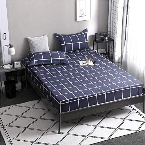 PENVEAT 1 stücke 100% Polyester Druck Bett matratze Set mit Vier Ecken und Gummiband blätter heißer, luomakongjian, 120X200X25 cm