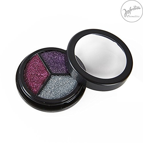 Fairy Make Up (Rubies - 712109 - Trio Glitter Fairy Edition * Jofrika Cosmetics * Pink, Lila Silber * Schminke/Body Make)