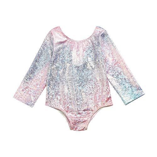 MOIKA Baby Mädchen Badeanzug für 6Monate-4Jahre, Infant Kinder Baby Mädchen Farbverlauf Badebekleidung Strand Schwimmen Bikini Einteilige Outfits
