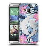 Head Case Designs Koi Fish Wilder Wald Soft Gel Hülle für HTC One M8 / M8 Dual SIM