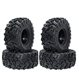 Best Truck Tires - 4PCS RC 2.2 Inch Truck Tires Good Grip Review