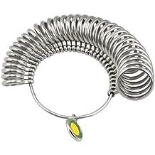 TRIXES Bagues en métal pour mesurer le tour du doigt pour les bagues nouvelles ou personnalisées bijoutiers