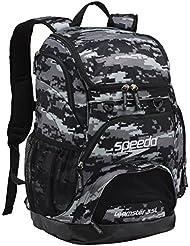 Speedo Teamster Mochila, Unisex Adulto, Gris (Grey / Black), 35 l