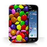 Coque de Stuff4 / Coque pour Samsung Galaxy Trend Lite/S7390 / Smarties Design / Bonbons Collection