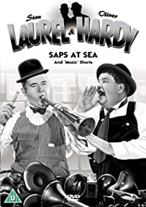 Laurel & Hardy Volume 11 - Saps At Sea/Music Shorts [DVD]