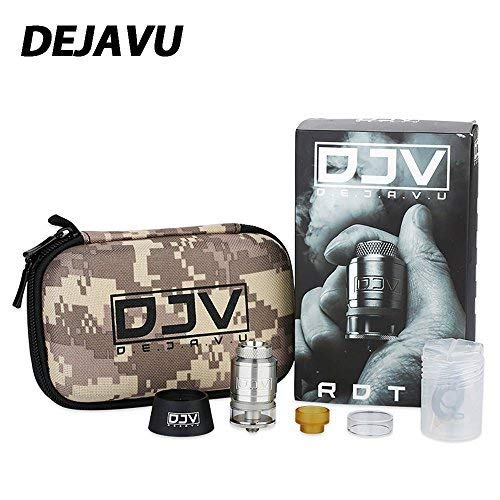 Electronic Cigarette DEJAVU RDTA Tank 2ml Vape Tank Dual Coil Building 25mm...