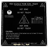 Cama caliente Heat bed heatbed MK2B 12V-24V Negra Impresora 3D RepRap Prusa Mendel