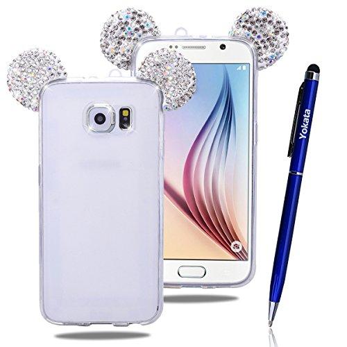 Yokata Samsung Galaxy S8 Plus Hülle Soft Flexible Silikon Crystal Clear Transparent Bumper Ultra Dünn Schlank Handyhülle Premium Kratzfest TPU Durchsichtige Schutzhülle für Samsung Galaxy S8 Plus Case Cover - Color (Samsung Galaxy S6, Silber)