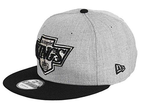 New Era Herren Caps / Snapback Cap Team Heather Mesh LA Kings VC grau M/L