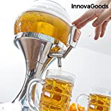 from Innova-Goods The New Cooling Beer Dispenser. The Original spillatore Table of Fresh Beer to plug 3.5Litre Refrigerated NozzleBPA FreeDistributor From Home Football Shaped With Compartment for the ICE TRAY FOR DRINKS, WINE AND FRESH Frozen Giraffe Table for the Party of the Chill Beer Drink Bubble Baloon Balloon Coolant Ball Giant Tower Jug00594