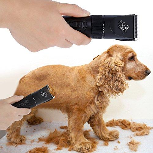 Tsing neue Generation Wiederaufladbare Tierhaarschneider Haustiere Elektrische Haarschneidemaschine für Hunde, Katze - 6