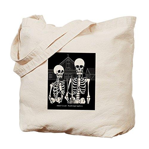 CafePress–American Röntgen–Leinwand Natur Tasche, Reinigungstuch Einkaufstasche