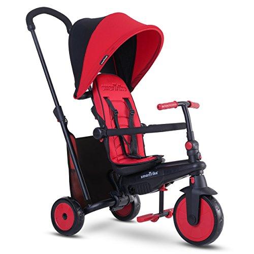 Smartrike - 5021500 - Tricycle évolutif Pliant Smartfold 300 Plus - Rouge