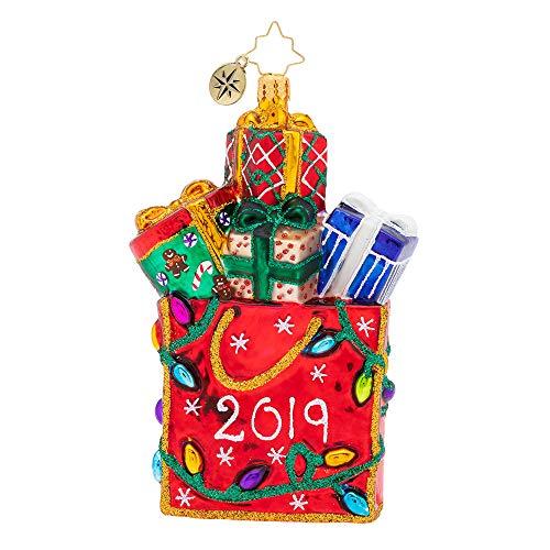 Christopher Radko 2019 Goodie Bag Weihnachten Ornament