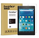 iVoler Verre Trempé Amazon Nouvelle Fire HD 8 [2017 Version] / Fire HD 8 [2016 Version] / Fire HD 8 [2015 Version] [Garantie à Vie], Film Protection en Verre trempé écran Protecteur Vitre
