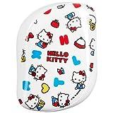 groviglio Teezer x Hello Kitty, Compact Styler Detangling Hairbrush, Happy Life
