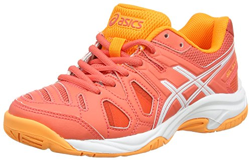Asics Gel-Game 5 GS, Zapatillas de Tenis Unisex Niños, Naranja (Coralicious/White/Orange Pop 3001), 40 EU