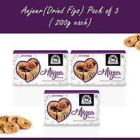 Wonderland Foods Premium Quality Anjeer (Dried Figs) 600g - Pack of 3 (200g Each)